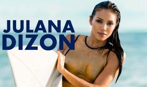 Julana Dizon model tv host brand ambassadoor